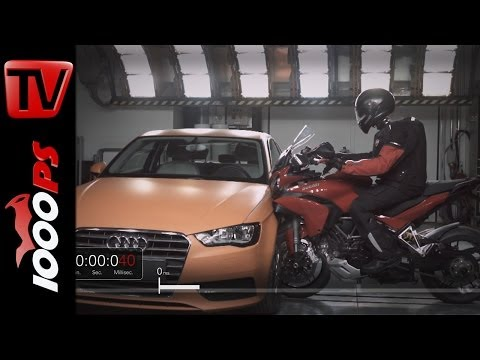 Ducati Multistrada 1200 S D-air Street - Airbag Präsenation