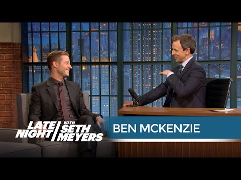 Ben McKenzie on Playing Jim Gordon and Gotham's New Villains  Late Night with Seth Meyers