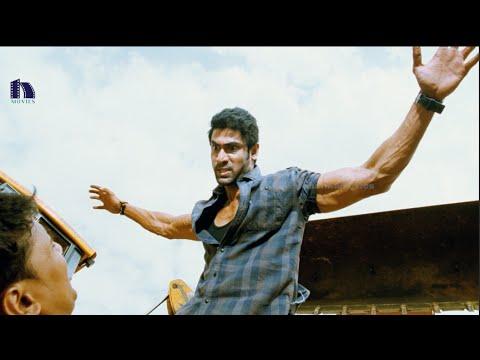 Rana Superb Fight Scene - Krishnam Vande Jagadgurum Movie Scene - Rana, Nayanthara, Krish