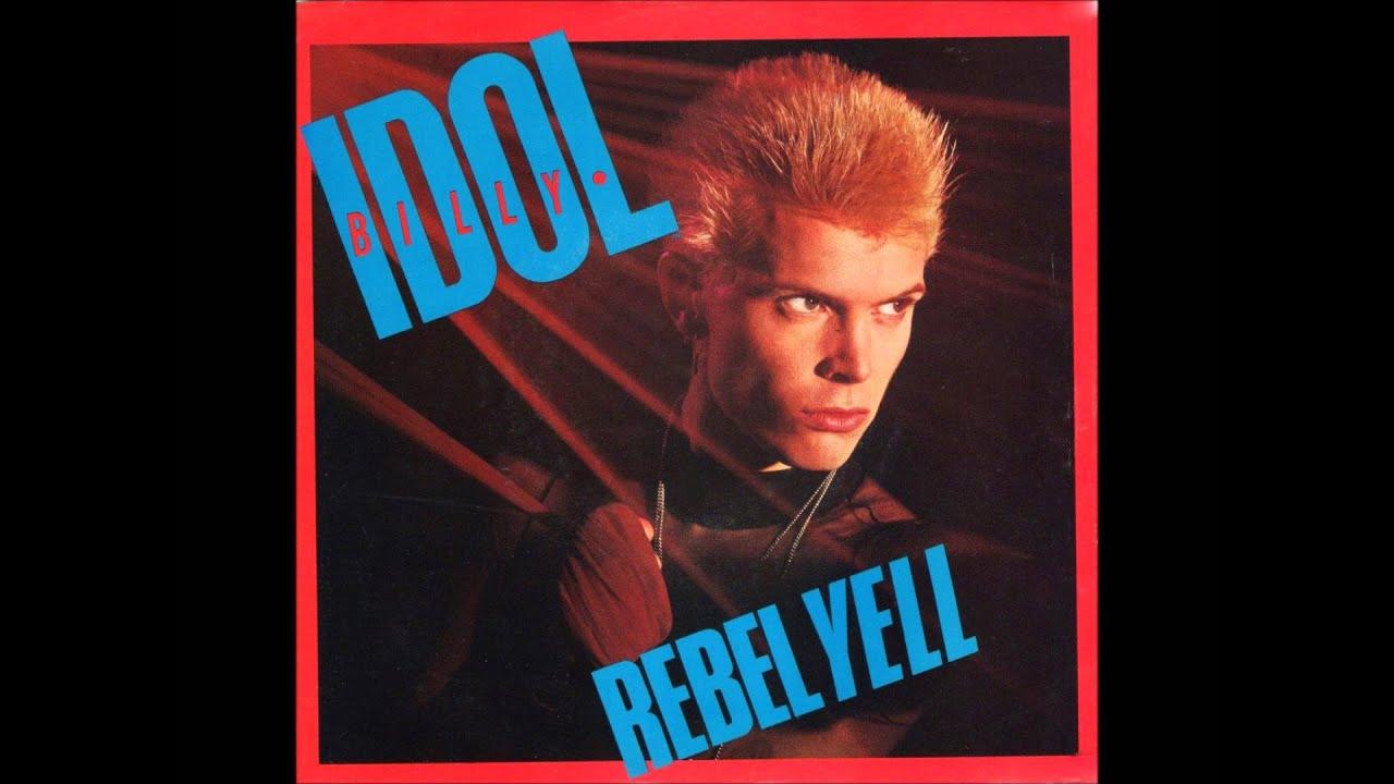 Rebel Yell Billy Idol 1983 Vinyl 45RPM