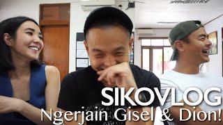 SIKOVLOG #29 - Ngerjain Gisel & Dion Di #CTSmovie! (Ft. Gisella Anastasia & Dion Wiyoko)