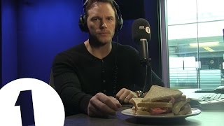 Chris Pratt with Best Supporting Actor......a Bacon Sandwich