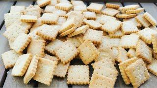 3 ingredientes y en sólo 30 minutos ya tienes las galletas listas | Galletas saladas con queso