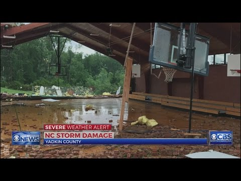 3 hurt, areas damaged after tornadoes reported in Yadkin, Stokes, and Davie counties