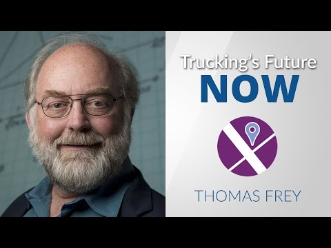 Futurist Thomas Frey talks about the future of the trucking industry
