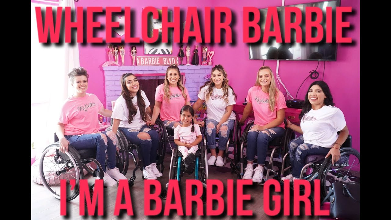 Wheelchair Barbie: I'm a Barbie Girl