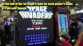 Space Invaders Frenzy - Ticketless Mode  (Raw Thrills)