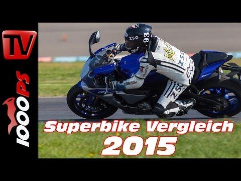 Yamaha YZF-R1 Test 2015 - 1000cc Vergleich | Bestes Superbike?