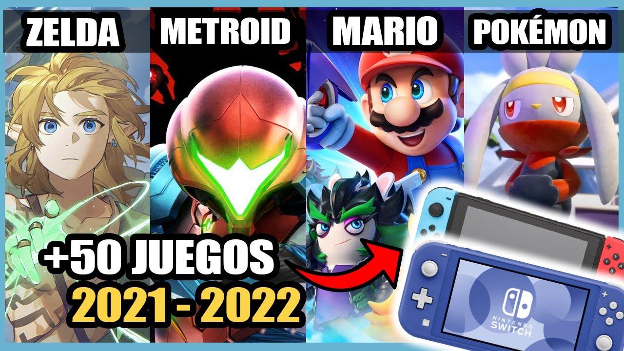 50 GRANDES JUEGOS para Nintendo Switch que Llegarán en 2021 - 2022 | N Deluxe