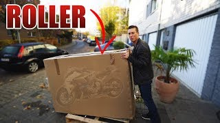 DER LEICHTESTE ELEKTRO ROLLER? | Scooter Elettrico Li  Unboxing - Review [Deutsch/German]