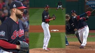 WS2016 Gm1: Kluber, Miller, Perez lead Indians to win