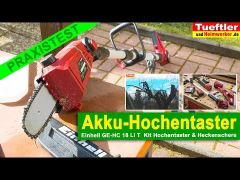 produkttest akku hochentaster stihl hta 85 doovi. Black Bedroom Furniture Sets. Home Design Ideas