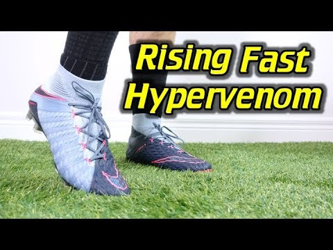 56659fa9b1bc RISING FAST PACK! - Nike Hypervenom Phantom 3 DF - Review + On Feet ...