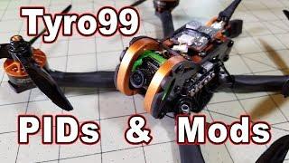 Eachine Tyro99 PIDs and Mods 🏁👍