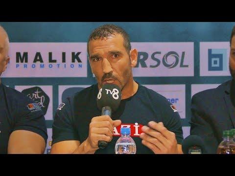 Firat Arslan vs Goran Delic   Interview vor dem Kampf