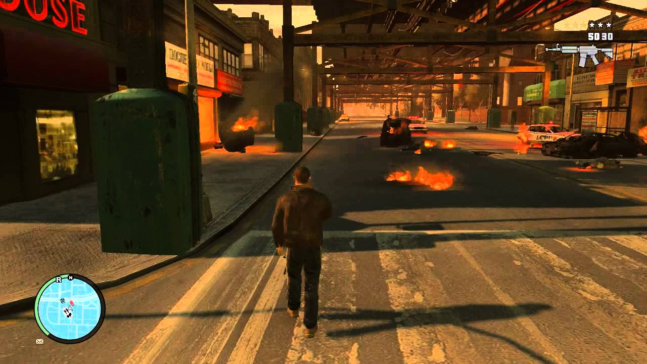 how to fix gta 4 graphics settings