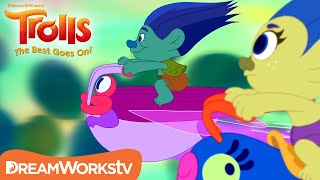 Flying Trolls Race | TROLLS: THE BEAT GOES ON!
