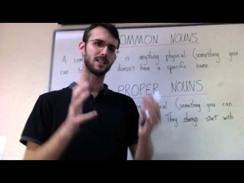 Mr Coller Teaches Common and Proper Nouns