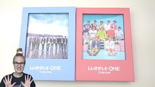Video Unboxing Wanna One 워너원 1st Mini Album 1X1=1 (To Be One) [Sky & Pink Edition] download MP3, 3GP, MP4, WEBM, AVI, FLV Desember 2017