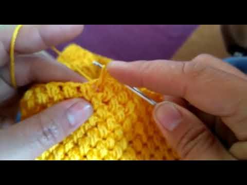 Cara Membuat Tas Dengan Benang Rajut Poly Indo
