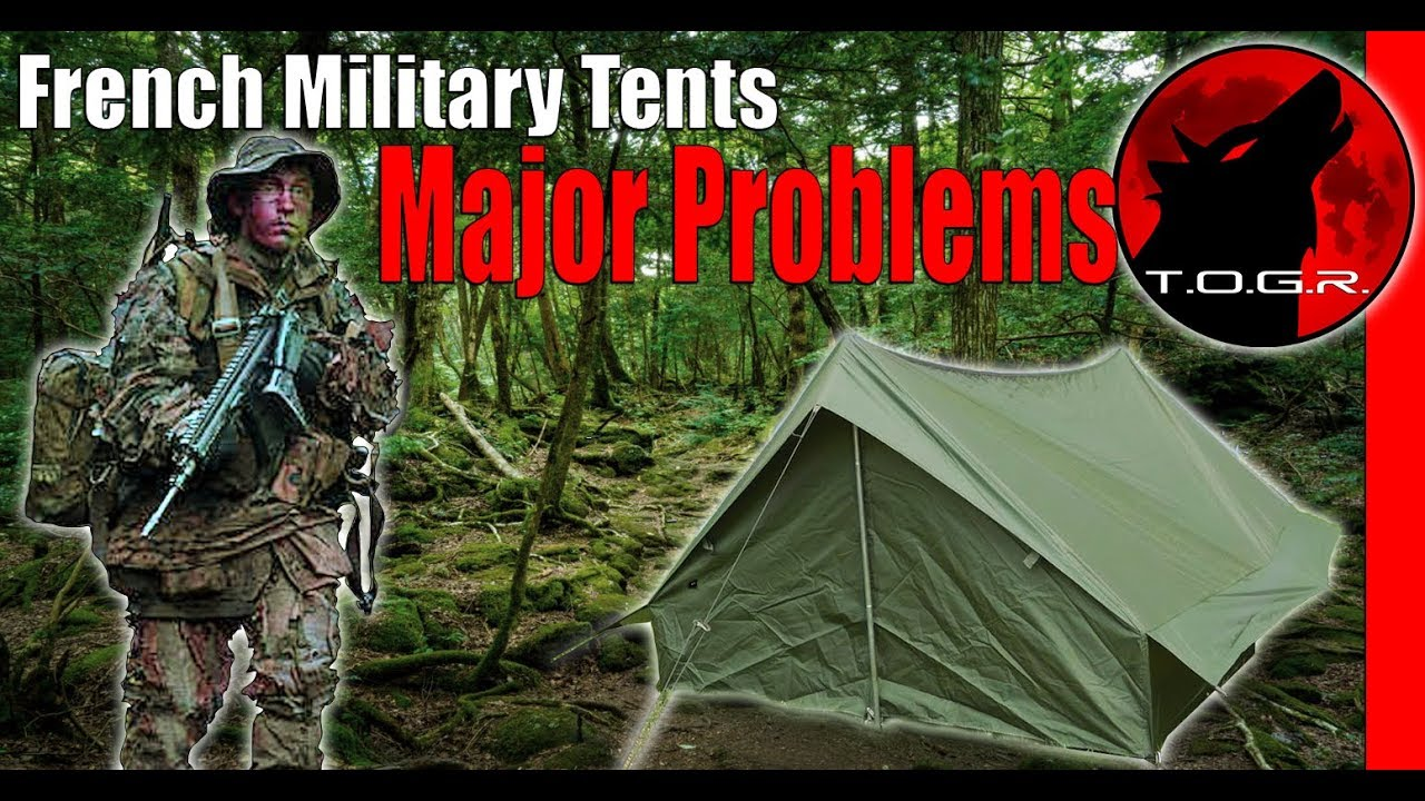 BEFORE YOU BUY - Warning!- French Army Tents F1 and Desert Commando