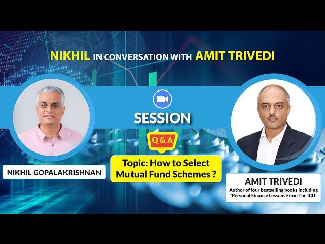 How to Select Mutual Fund Schemes- Free Webinar- Part 2