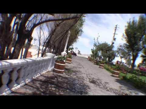Yanahuara bridge Arequipa peru