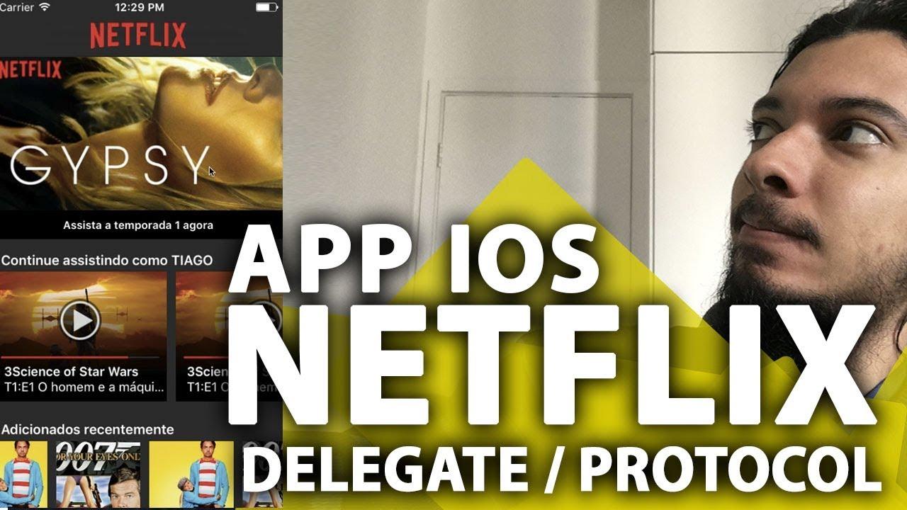 Netflix Feed Layout iOS: Delegate e Protocol