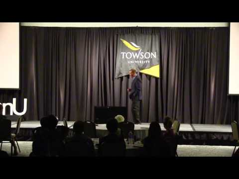 The magic of words - what we speak is what we create: Andrew Bennett at TEDxTowsonU