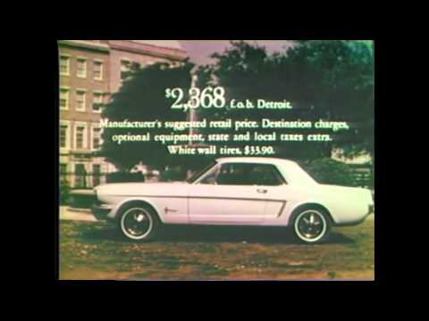 1964 Ford Mustang Commercial 8 Of 16 Tv Ad