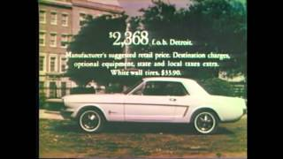 1964 Ford Mustang Commercial (8 of 16) TV Ad