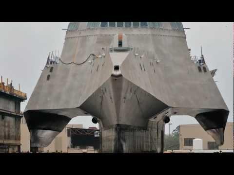 Berard - The Mega Transport Experts - Austal LCS Coronado Loadout (1-9-12).wmv