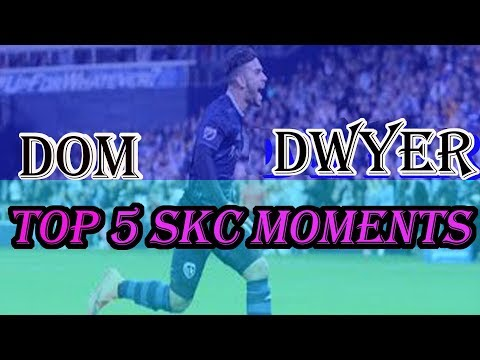 Dom Dwyer Top 5 Sporting Kansas City Moments/Times/Services