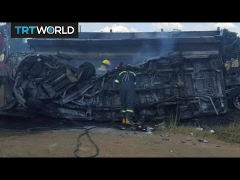 20 children dead in South Africa bus crash