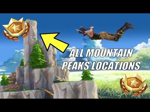 FORTNITE SUMMIT DIFFERENT MOUNTAIN PEAKS CHALLENGE | WEEK 6 CHALLENGE GUIDE