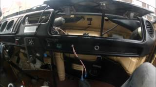 Removing the dash top on a 1979 Volkswagen Type 2 Part 3