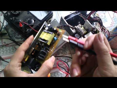 Điện Tử thực hành - Các bước sửa chữa 1 bộ nguồn xung