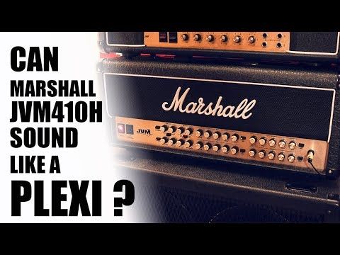 Can Marshall JVM410H sound like a PLEXI ??? - 4K DEMO