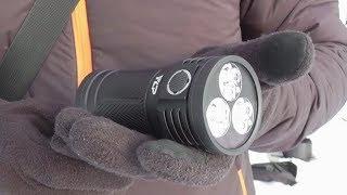Фонарь Яркий Луч Gryphon G180 обзор и тесты