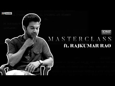 AIB First Draft : Masterclass ft Rajkumar Rao