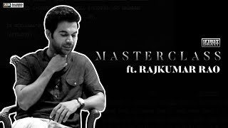 AIB First Draft : Masterclass ft Rajkumar Rao