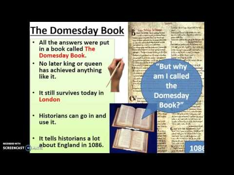 Domesday Book and Feudal System