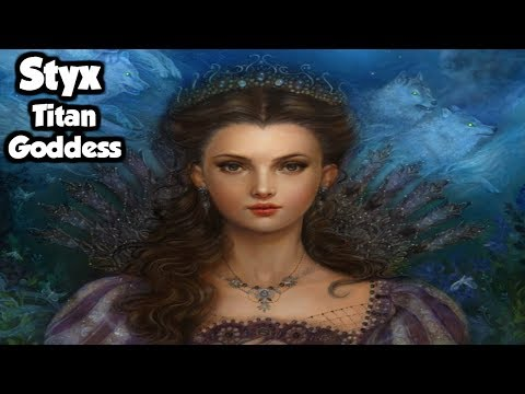 Styx: The Titan Goddess of Sacred Oaths & The River Styx - (Greek Mythology Explained)