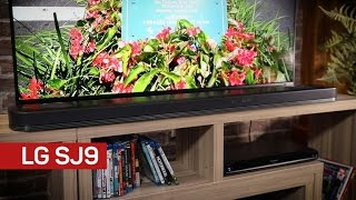 LG's SJ9 is the cheapest Atmos sound bar, doesn't suck