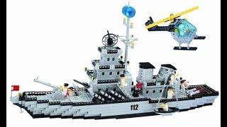 Военный корабль из лего.