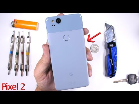 Thumbnail: Pixel 2 Durability Test! - Scratch and BEND tested...