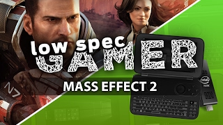 Super low Mass Effect 2 on tiny Intel Atom PC (GPD Win & Compute Stick)