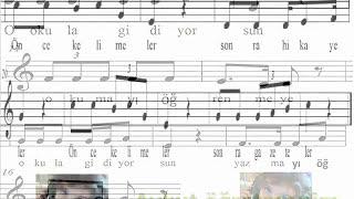 Abc Okuma Bayramı Çocuk Şarkısı Grup Marşandizin Çocuk Şarkısı Aykut Öğretmen