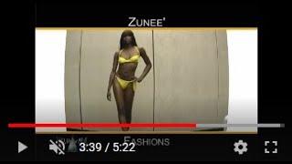 Hot Claudia Romani plays soccer in Black thong Bikini bottoms BY a2z VIDEOVINES