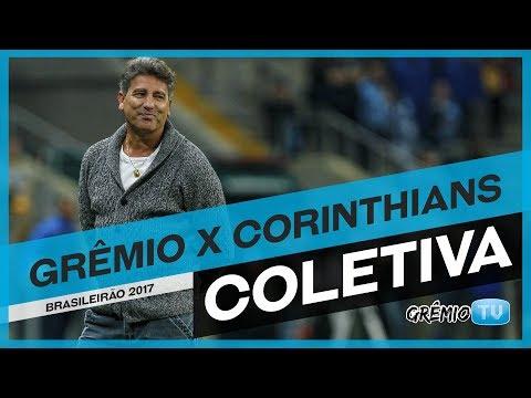 [COLETIVA] Grêmio x Corinthians (Campeonato Brasileiro 2017) l GrêmioTV